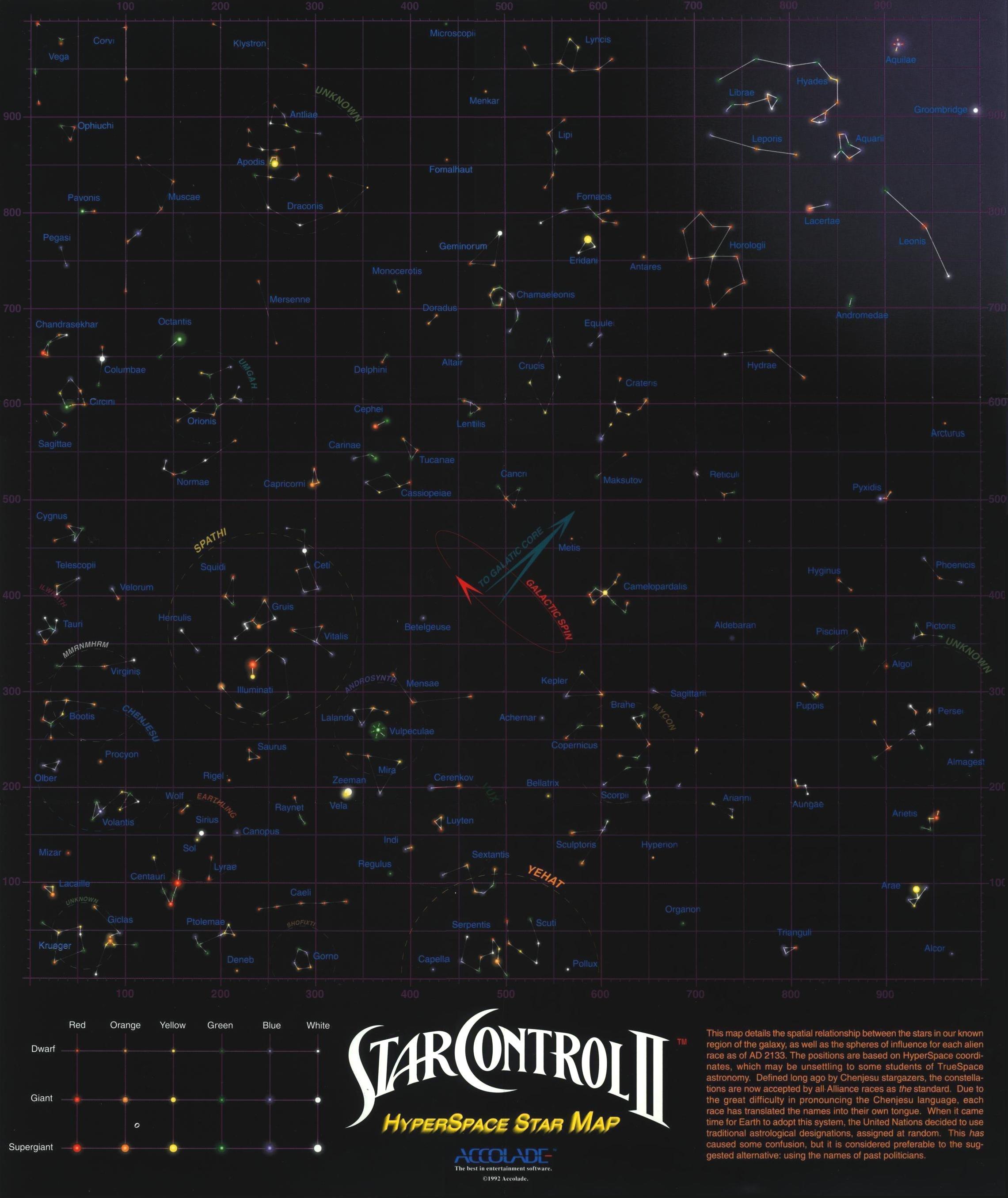 ur quan masters star map Ur Quan Masters Maps Star Control Ii